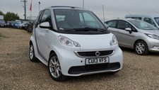 Smart Fortwo 1.0 (71bhp) Passion Cabriolet 2d 999cc Softouch