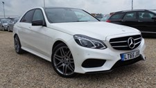 Mercedes-Benz E Class 2.1CDI (177ps) E220 AMG Night Edition BlueTEC (Premium) Saloon 4d 2143cc 7G-Tronic Plus