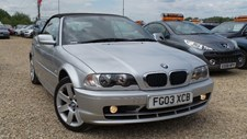 BMW 3 Series 2.0 318Ci Convertible 2d 1995cc