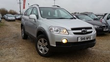 Chevrolet Captiva 2.0VCDi (150ps) LT (7st) Station Wagon 5d 1991cc auto